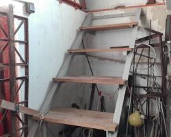 pince lépcső